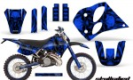 KTM C6 CreatorX Graphics Kit Skullcified Blue NP Rims 150x90 - KTM C6 SX Two Stroke Models 1993-1997 Graphics