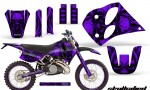 KTM C6 CreatorX Graphics Kit Skullcified Purple NP Rims 150x90 - KTM C6 SX Two Stroke Models 1993-1997 Graphics