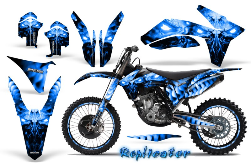 KTM-C7-2011-CreatorX-Graphics-Kit-Replicator-Blue-NP-Rims