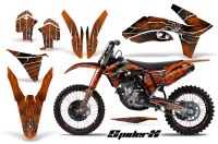 KTM-C7-2011-CreatorX-Graphics-Kit-SpiderX-Orange-BB-NP-Rims