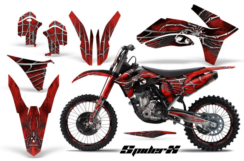 KTM-C7-2011-CreatorX-Graphics-Kit-SpiderX-Red-BB-NP-Rims
