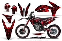 KTM-C7-2011-SX-F-CreatorX-Graphics-Kit-Skullcified-Red-NP-Rims