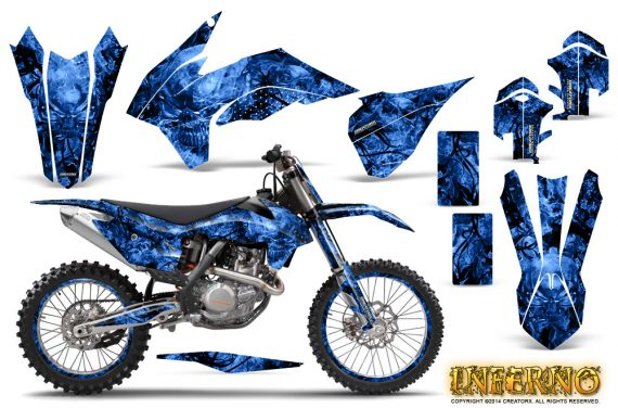 KTM-C9-SX-F450-2013-CreatorX-Graphics-Kit-Inferno-Blue-NP-Rims