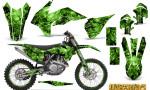 KTM C9 SX F450 2013 CreatorX Graphics Kit Inferno Green NP Rims 150x90 - KTM C9 SX SX-F XC XC-F 13-14 - EXC 14-15 - XC-W 14-16 - SX XCF-W EXC EXC-F 2016 Graphics