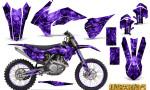 KTM C9 SX F450 2013 CreatorX Graphics Kit Inferno Purple NP Rims 150x90 - KTM C9 SX SX-F XC XC-F 13-14 - EXC 14-15 - XC-W 14-16 - SX XCF-W EXC EXC-F 2016 Graphics