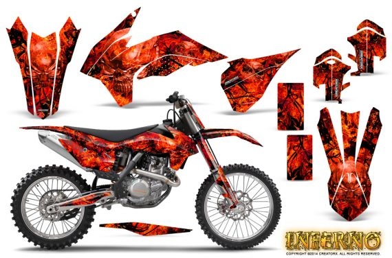 KTM-C9-SX-F450-2013-CreatorX-Graphics-Kit-Inferno-Red-NP-Rims