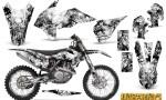 KTM C9 SX F450 2013 CreatorX Graphics Kit Inferno White NP Rims 150x90 - KTM C9 SX SX-F XC XC-F 13-14 - EXC 14-15 - XC-W 14-16 - SX XCF-W EXC EXC-F 2016 Graphics