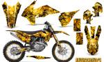 KTM C9 SX F450 2013 CreatorX Graphics Kit Inferno Yellow NP Rims 150x90 - KTM C9 SX SX-F XC XC-F 13-14 - EXC 14-15 - XC-W 14-16 - SX XCF-W EXC EXC-F 2016 Graphics