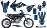 KTM C9 SX F450 2013 CreatorX Graphics Kit SpiderX Blue NP Rims 150x90 - KTM C9 SX SX-F XC XC-F 13-14 - EXC 14-15 - XC-W 14-16 - SX XCF-W EXC EXC-F 2016 Graphics
