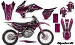 KTM C9 SX F450 2013 CreatorX Graphics Kit SpiderX Pink NP Rims 150x90 - KTM C9 SX SX-F XC XC-F 13-14 - EXC 14-15 - XC-W 14-16 - SX XCF-W EXC EXC-F 2016 Graphics