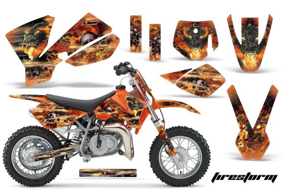 KTM SX50 02 08 AMR Graphics Kit FS O 570x376 - KTM SX 50 Adventurer Jr Sr 2002-2008 Graphics