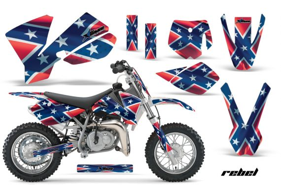 KTM SX50 02 08 AMR Graphics Kit Rebel W 570x376 - KTM SX 50 Adventurer Jr Sr 2002-2008 Graphics