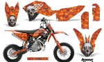 KTM SX50 09 12 AMR Graphics Kit Decal 150x90 - KTM SX 50 Adventurer Jr Sr 2009-2015 Graphics