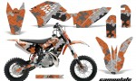 KTM SX50 09 12 AMR Graphics Kit Decal Camoplate O 150x90 - KTM SX 50 Adventurer Jr Sr 2009-2015 Graphics