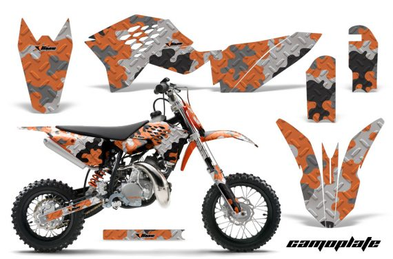 KTM SX50 09 12 AMR Graphics Kit Decal Camoplate O 570x376 - KTM SX 50 Adventurer Jr Sr 2009-2015 Graphics
