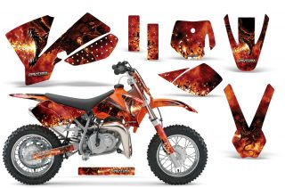 KTM SX 50 Adventurer Jr Sr Graphics 2002-2008
