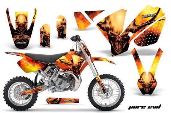 KTM SX65 02 08 CreatorX Graphics Kit Pure Evil NPs OB 570x376 - KTM SX 65 2002-2008 Graphics