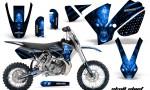 KTM SX65 02 08 CreatorX Graphics Kit Skull Chief Blue NP Rims 150x90 - KTM SX 65 2002-2008 Graphics