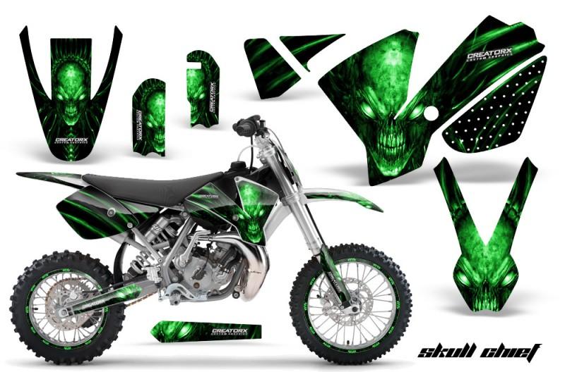 KTM-SX65-02-08-CreatorX-Graphics-Kit-Skull-Chief-Green-NP-Rims