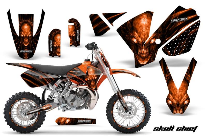 KTM-SX65-02-08-CreatorX-Graphics-Kit-Skull-Chief-Orange-NP-Rims