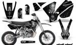 KTM SX65 02 08 CreatorX Graphics Kit Skull Chief Silver NP Rims 150x90 - KTM SX 65 2002-2008 Graphics