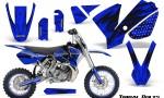 KTM SX65 02 08 CreatorX Graphics Kit Tribal Bolts Blue NP Rims 150x90 - KTM SX 65 2002-2008 Graphics