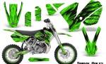 KTM SX65 02 08 CreatorX Graphics Kit Tribal Bolts Green NP Rims 150x90 - KTM SX 65 2002-2008 Graphics