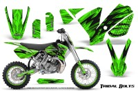 KTM-SX65-02-08-CreatorX-Graphics-Kit-Tribal-Bolts-Green-NP-Rims