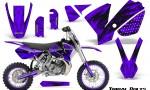 KTM SX65 02 08 CreatorX Graphics Kit Tribal Bolts Purple NP Rims 150x90 - KTM SX 65 2002-2008 Graphics
