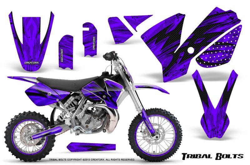 KTM-SX65-02-08-CreatorX-Graphics-Kit-Tribal-Bolts-Purple-NP-Rims
