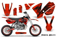 KTM-SX65-02-08-CreatorX-Graphics-Kit-Tribal-Bolts-Red-NP-Rims