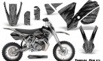 KTM SX65 02 08 CreatorX Graphics Kit Tribal Bolts Silver NP Rims 150x90 - KTM SX 65 2002-2008 Graphics