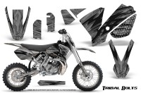 KTM-SX65-02-08-CreatorX-Graphics-Kit-Tribal-Bolts-Silver-NP-Rims