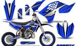 KTM SX65 09 12 CreatorX Graphics Kit SpeedX Black Blue NP Rims 150x90 - KTM SX 65 2009-2015 Graphics