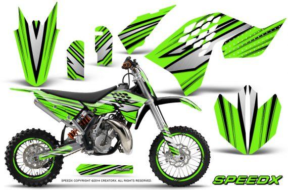 KTM-SX65-09-12-CreatorX-Graphics-Kit-SpeedX-Black-Green-NP-Rims