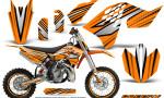 KTM SX65 09 12 CreatorX Graphics Kit SpeedX Black Orange NP Rims 150x90 - KTM SX 65 2009-2015 Graphics