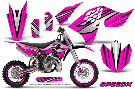 KTM-SX65-09-12-CreatorX-Graphics-Kit-SpeedX-Black-Pink-NP-Rims