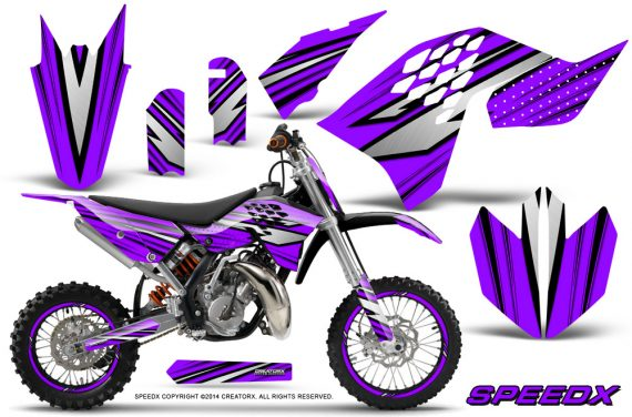 KTM-SX65-09-12-CreatorX-Graphics-Kit-SpeedX-Black-Purple-NP-Rims