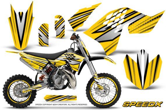 KTM-SX65-09-12-CreatorX-Graphics-Kit-SpeedX-Black-Yellow-NP-Rims