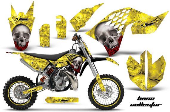 KTM SX65 2009 2014 AMR Graphics Kit BC Yellow NPs 570x376 - KTM SX 65 2009-2015 Graphics