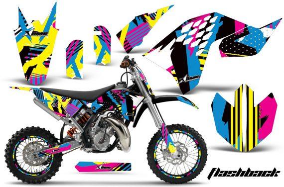 KTM SX65 2009 2014 AMR Graphics Kit Flashback NPs 570x376 - KTM SX 65 2009-2015 Graphics