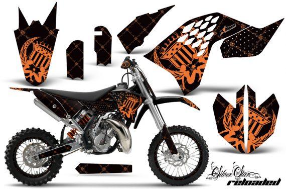 KTM SX65 2009 2014 AMR Graphics Kit Realoaded Orange BLKbg NPs 570x376 - KTM SX 65 2009-2015 Graphics