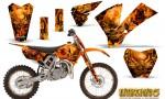 KTM SX85 04 05 CreatorX Graphics Kit Inferno Orange OB NP Rims 150x90 - KTM SX 85/105 2004-2005 Graphics
