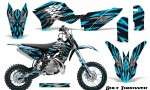 KTM SX50 09 14 Graphics Kit Bolt Thrower BlueIce NP Rims 150x90 - KTM SX 50 Adventurer Jr Sr 2009-2015 Graphics
