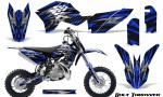 KTM SX50 09 14 Graphics Kit Bolt Thrower Blue NP Rims 150x90 - KTM SX 50 Adventurer Jr Sr 2009-2015 Graphics