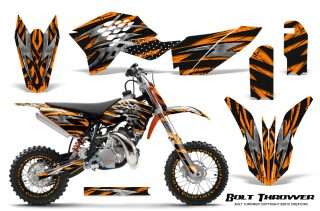 KTM SX50 09 14 Graphics Kit Bolt Thrower Orange NP Rims 320x211 - KTM SX 50 Adventurer Jr Sr 2009-2015 Graphics