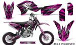 KTM SX50 09 14 Graphics Kit Bolt Thrower Pink NP Rims 150x90 - KTM SX 50 Adventurer Jr Sr 2009-2015 Graphics