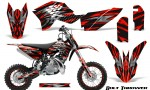 KTM SX50 09 14 Graphics Kit Bolt Thrower Red NP Rims 150x90 - KTM SX 50 Adventurer Jr Sr 2009-2015 Graphics