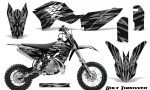 KTM SX50 09 14 Graphics Kit Bolt Thrower Silver NP Rims 150x90 - KTM SX 50 Adventurer Jr Sr 2009-2015 Graphics