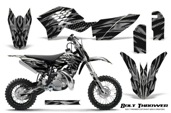 KTM SX50 09 14 Graphics Kit Bolt Thrower Silver NP Rims 570x376 - KTM SX 50 Adventurer Jr Sr 2009-2015 Graphics